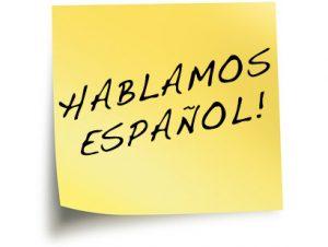 hablamos espanol - se habla espanol